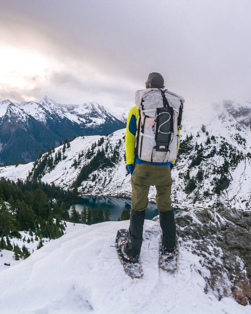 It is always better to err on the side of too much gear than too little in the winter.