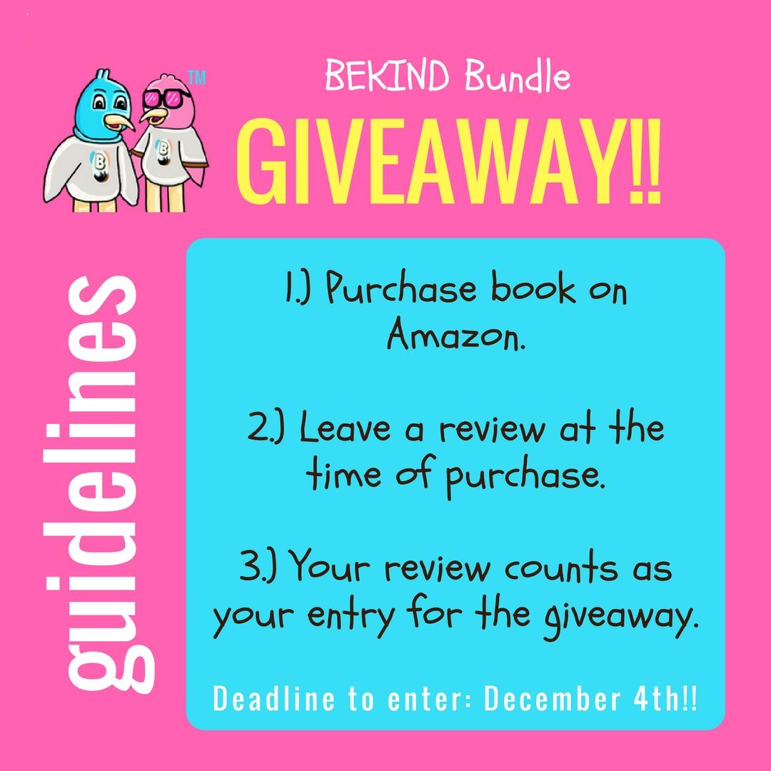 Leave a review! - Win a BEKIND Bundle!!