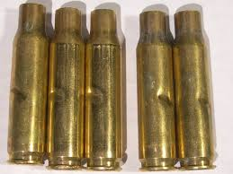 SPENT Brass Casings