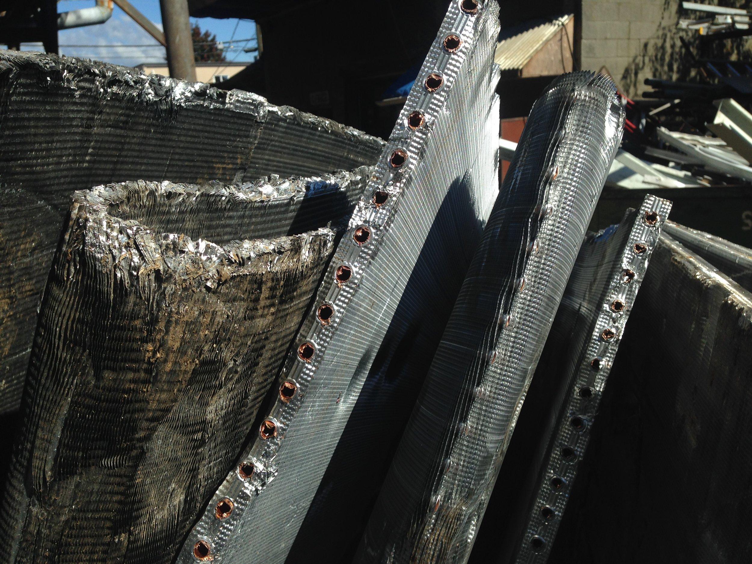 Copper / Aluminium Fins