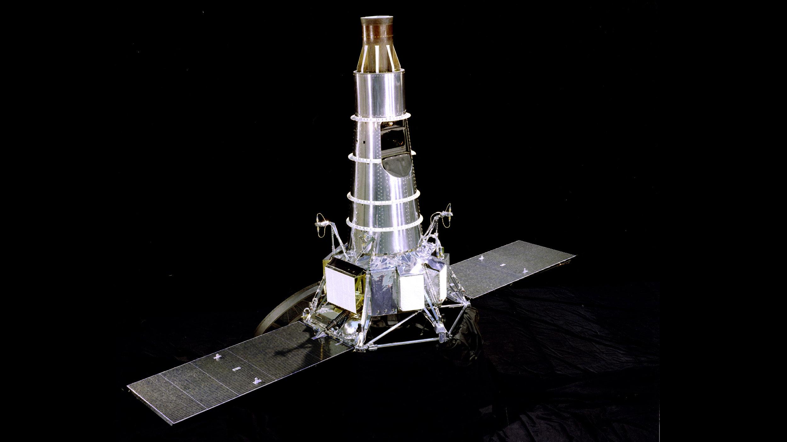 The Ranger 7 lunar lander