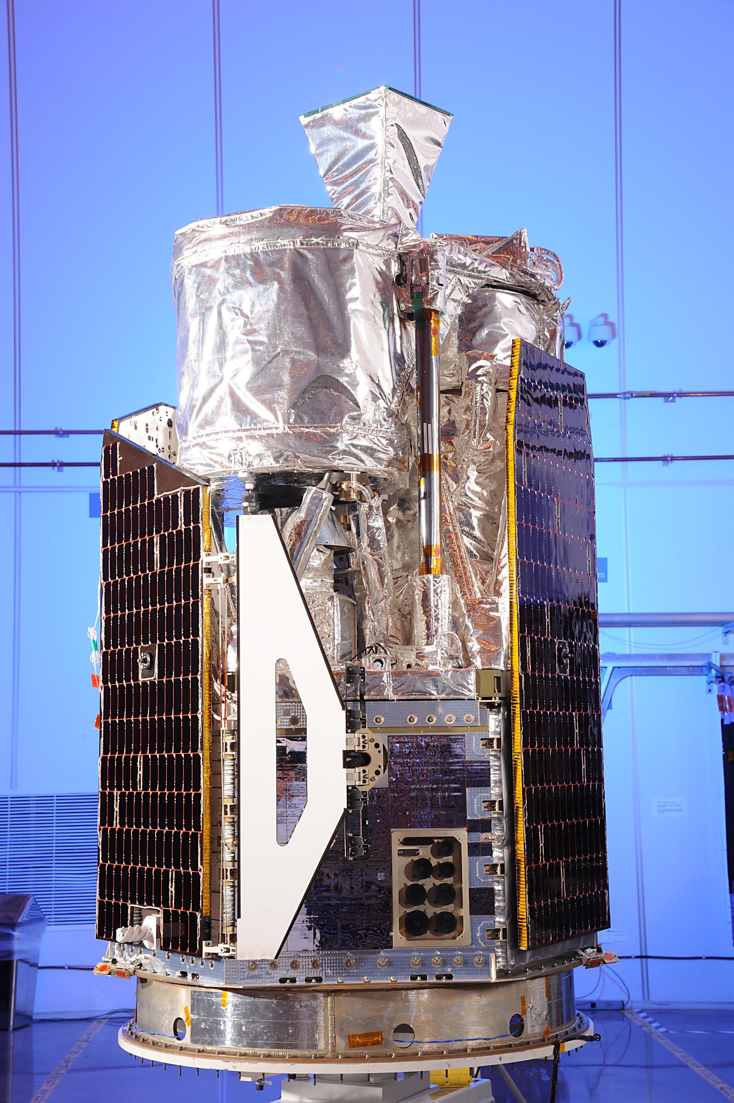 NuSTAR Telescope in clean room