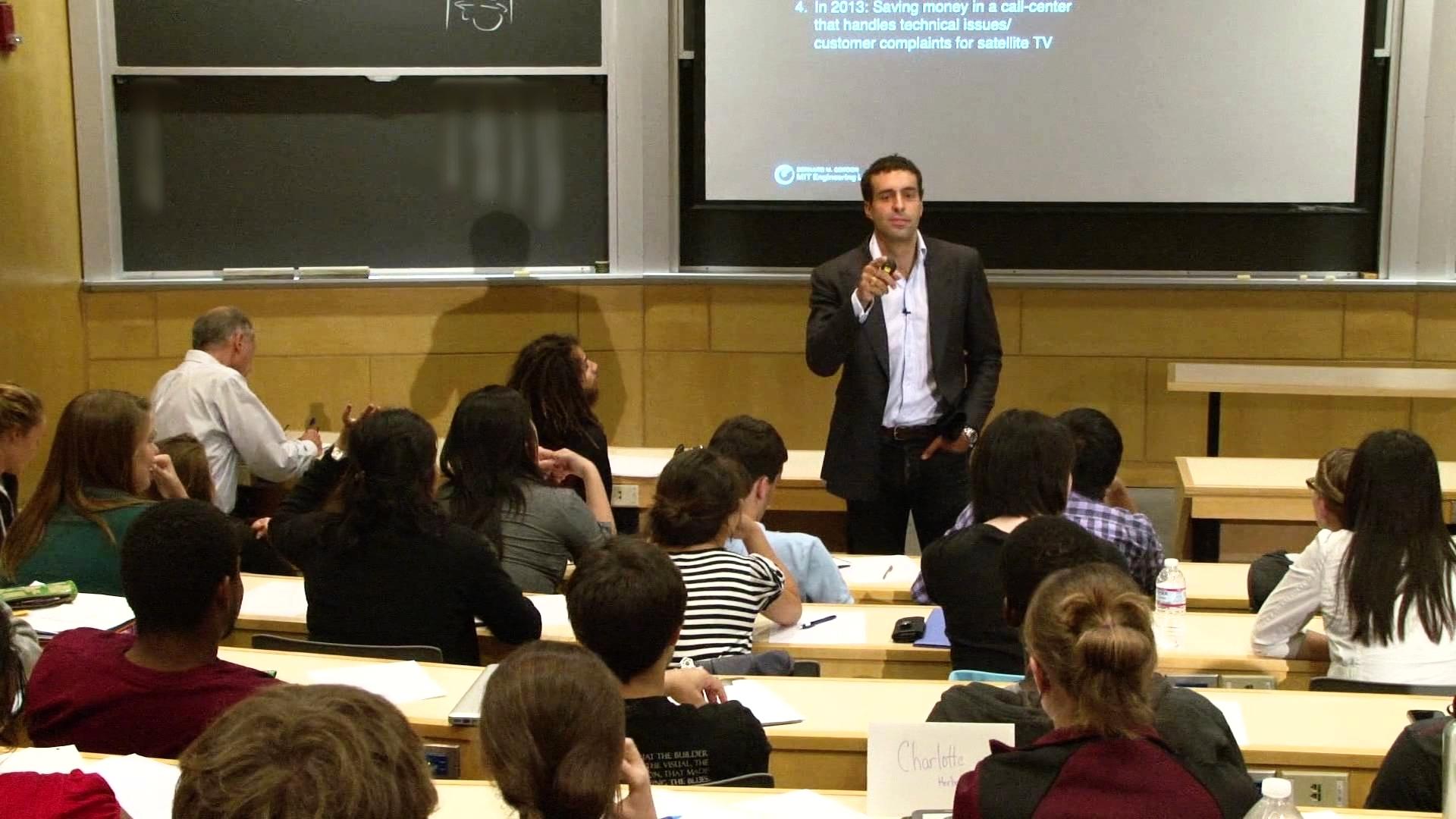 Blade Kotelly teaching at MIT
