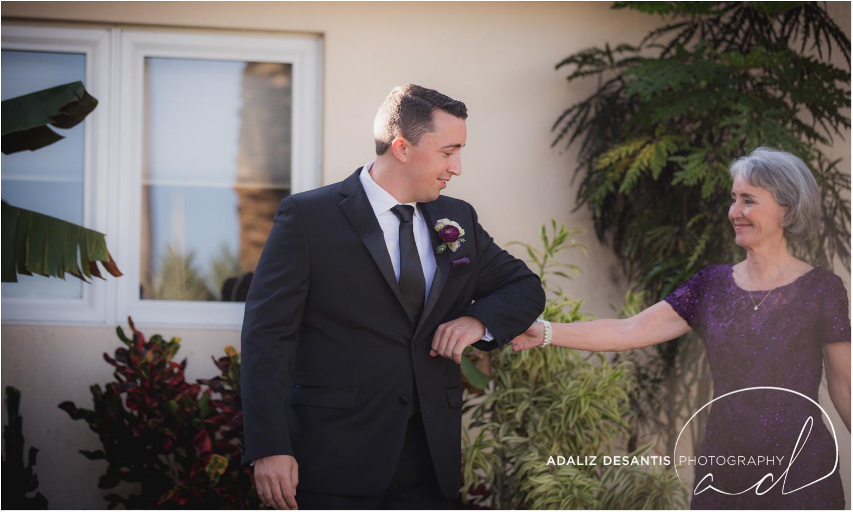 Fort Lauderdale Shady Banks Purple Wedding-29