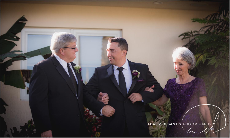 Fort Lauderdale Shady Banks Purple Wedding-30