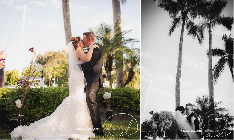 Fort Lauderdale Shady Banks Purple Wedding-46