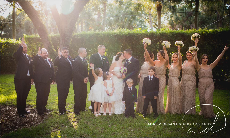 Fort Lauderdale Shady Banks Purple Wedding-51