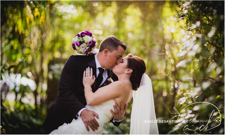 Fort Lauderdale Shady Banks Purple Wedding-56