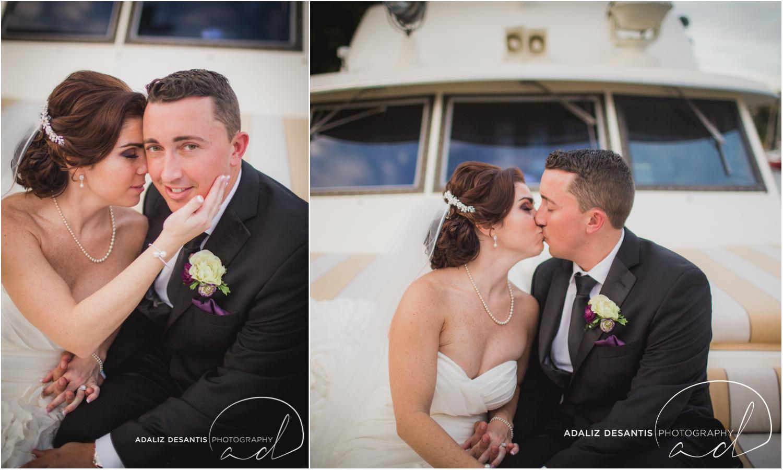 Fort Lauderdale Shady Banks Purple Wedding-58