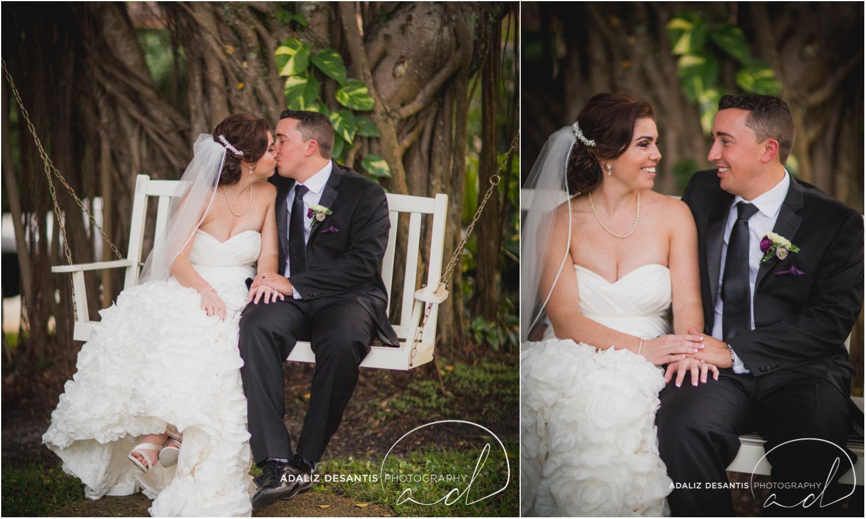 Fort Lauderdale Shady Banks Purple Wedding-59