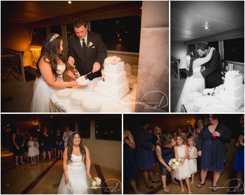 Taylor and amanda Indiana Fort Lauderdale Sun Dream yacht charter wedding 22