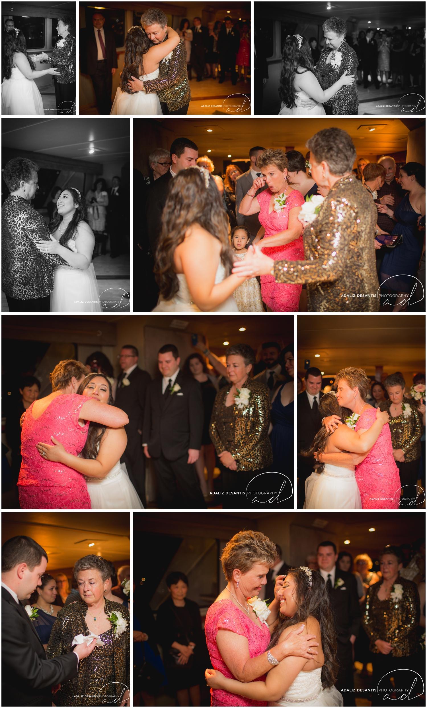 Taylor and amanda Indiana Fort Lauderdale Sun Dream yacht charter wedding 17