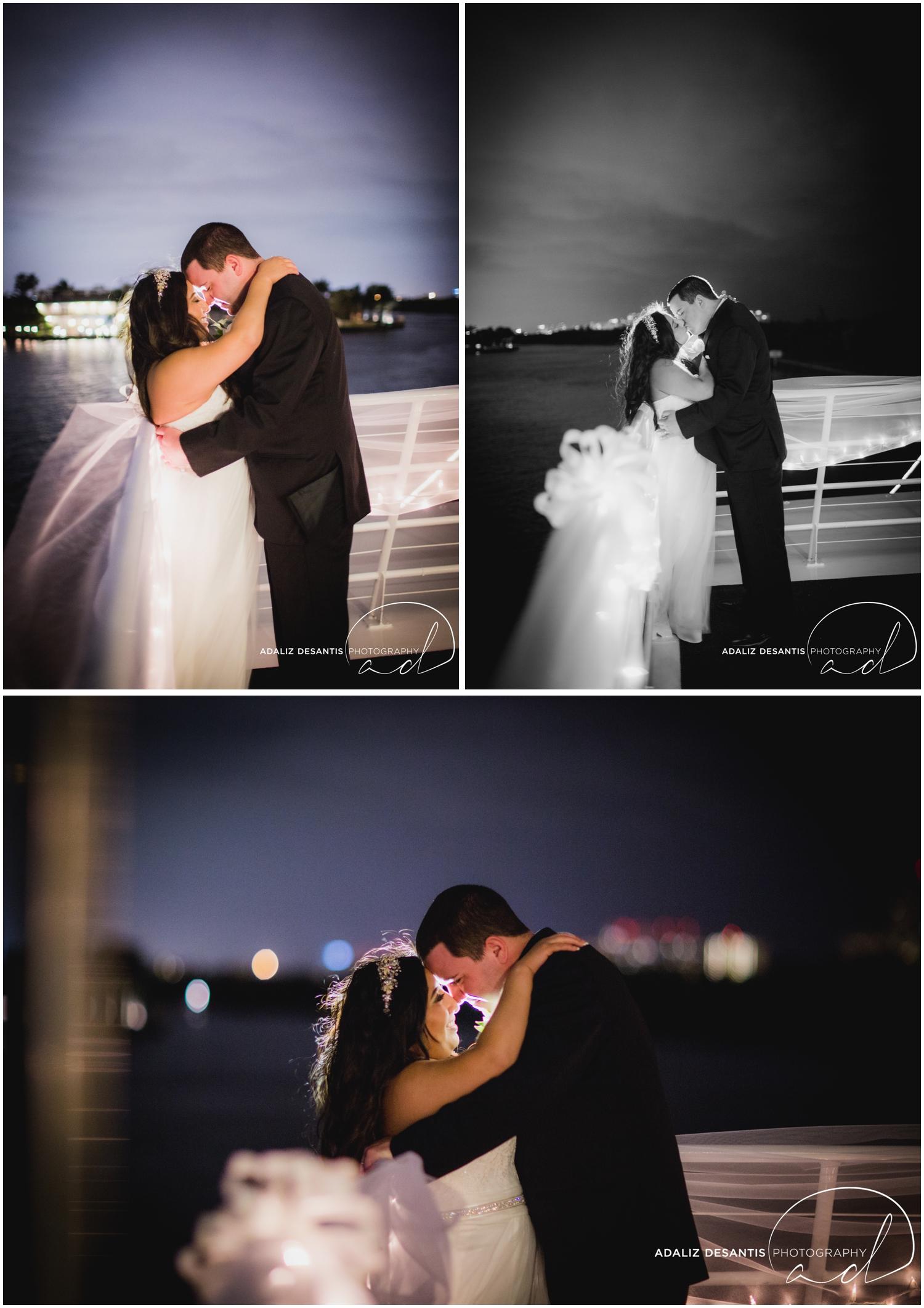 Taylor and amanda Indiana Fort Lauderdale Sun Dream yacht charter wedding 24