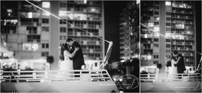 Taylor and amanda Indiana Fort Lauderdale Sun Dream yacht charter wedding 26