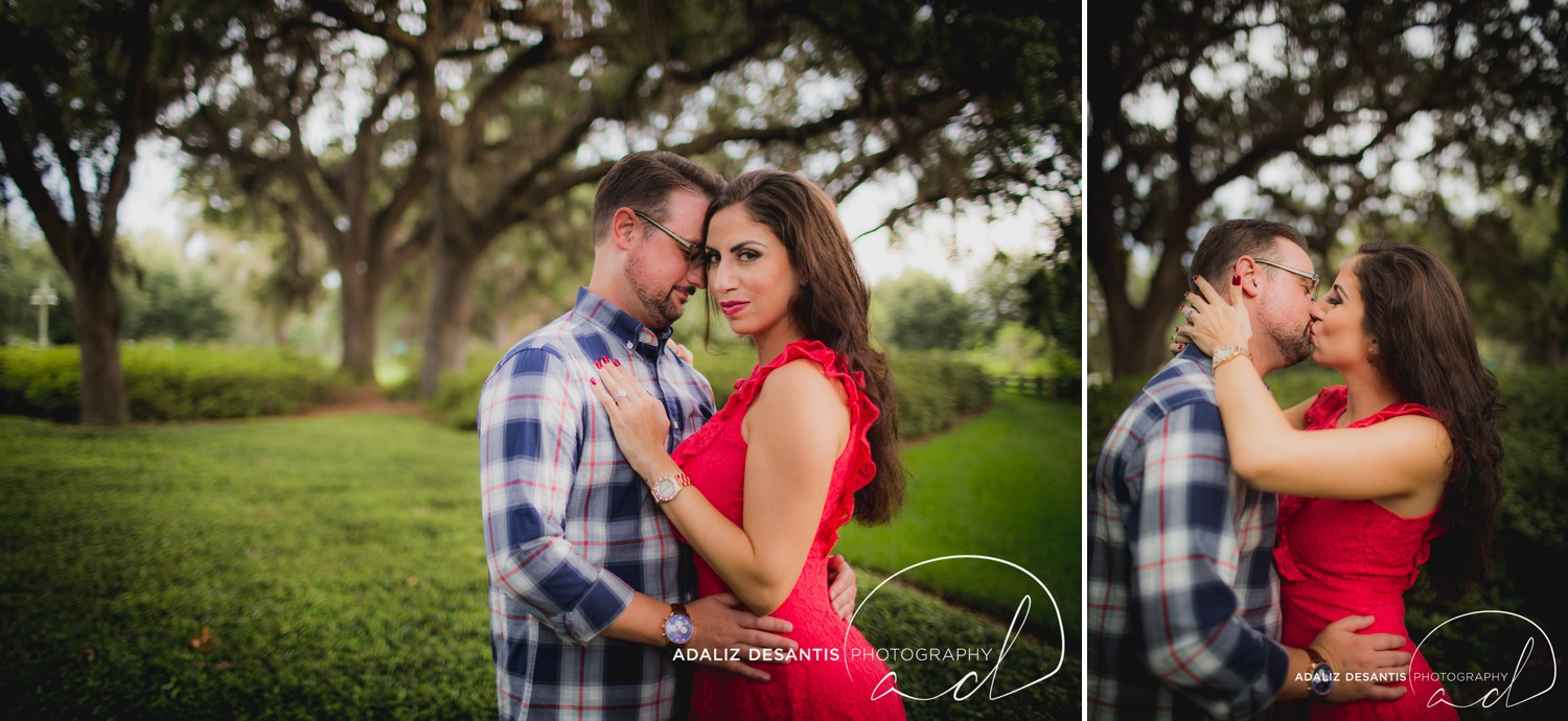 Reunion Resort Orlando Wedding Photographer Engagement Session Gold Course Christine Brandon may Meet the mays 3.jpg