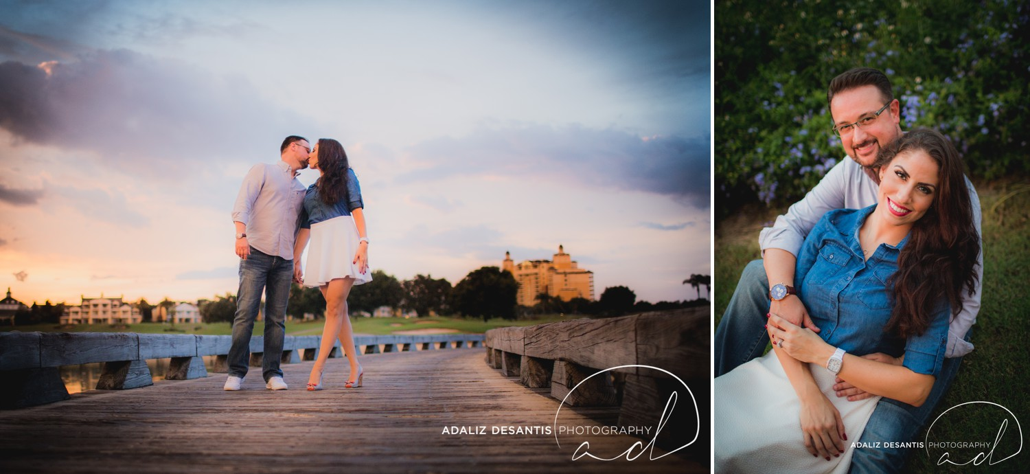 Reunion Resort Orlando Wedding Photographer Engagement Session Gold Course Christine Brandon may Meet the mays 18.jpg