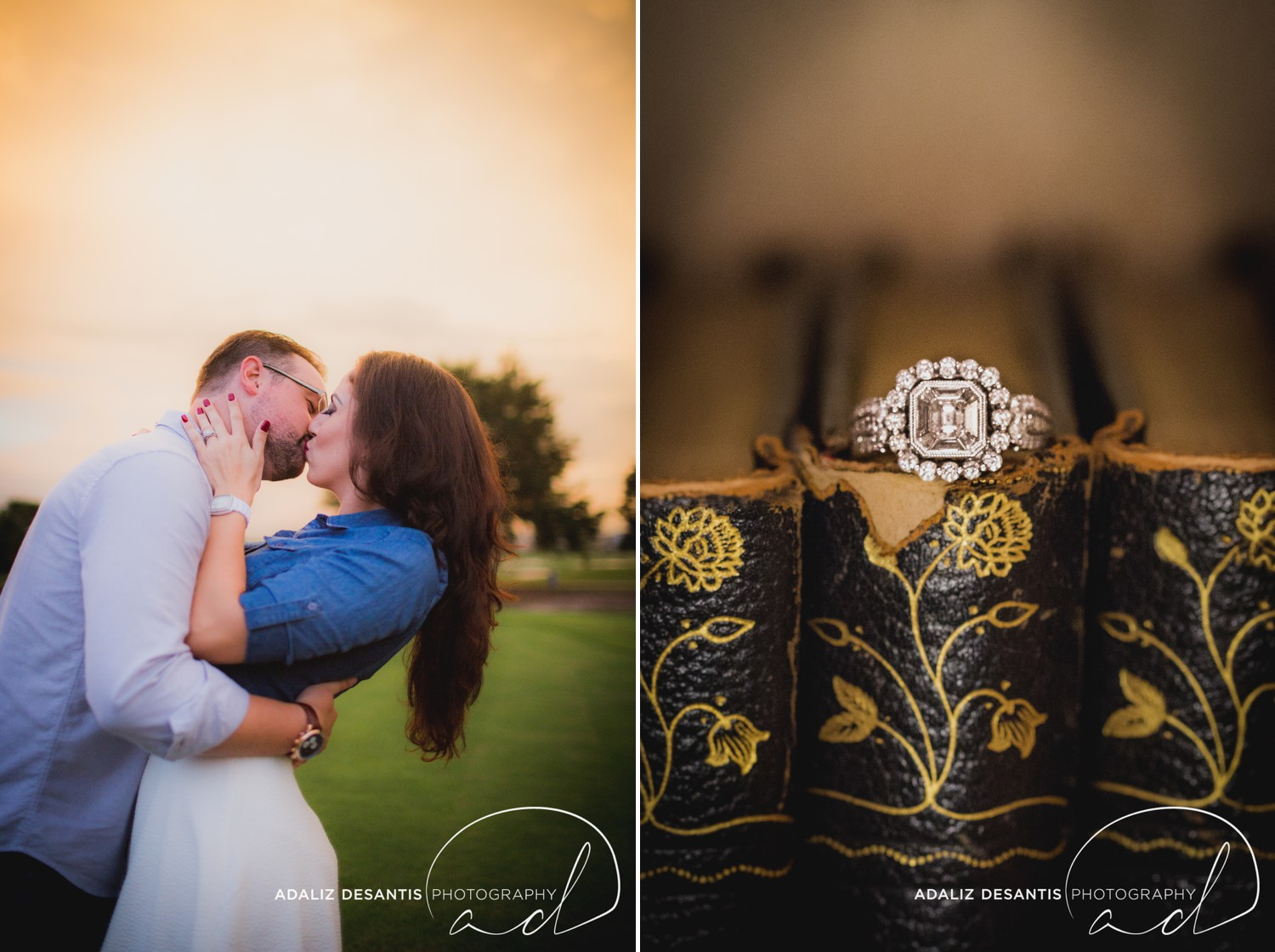 Reunion Resort Orlando Wedding Photographer Engagement Session Gold Course Christine Brandon may Meet the mays 17.jpg