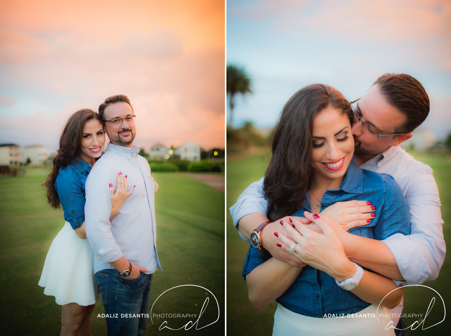 Reunion Resort Orlando Wedding Photographer Engagement Session Gold Course Christine Brandon may Meet the mays 19.jpg