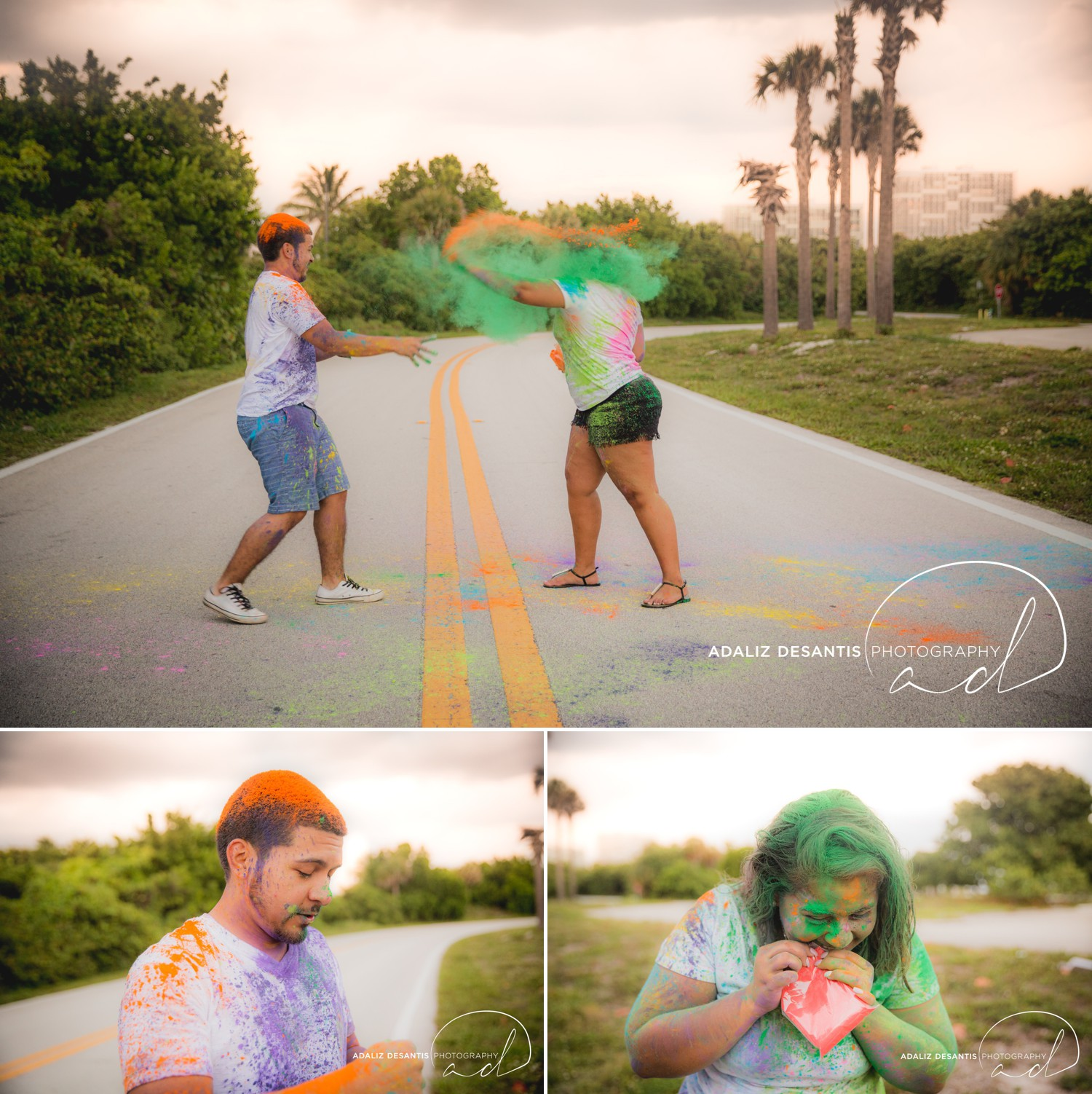John U Lloyd Beach State Park Paint War Dania Beach Fort Lauderdale Engagement Session 26.jpg