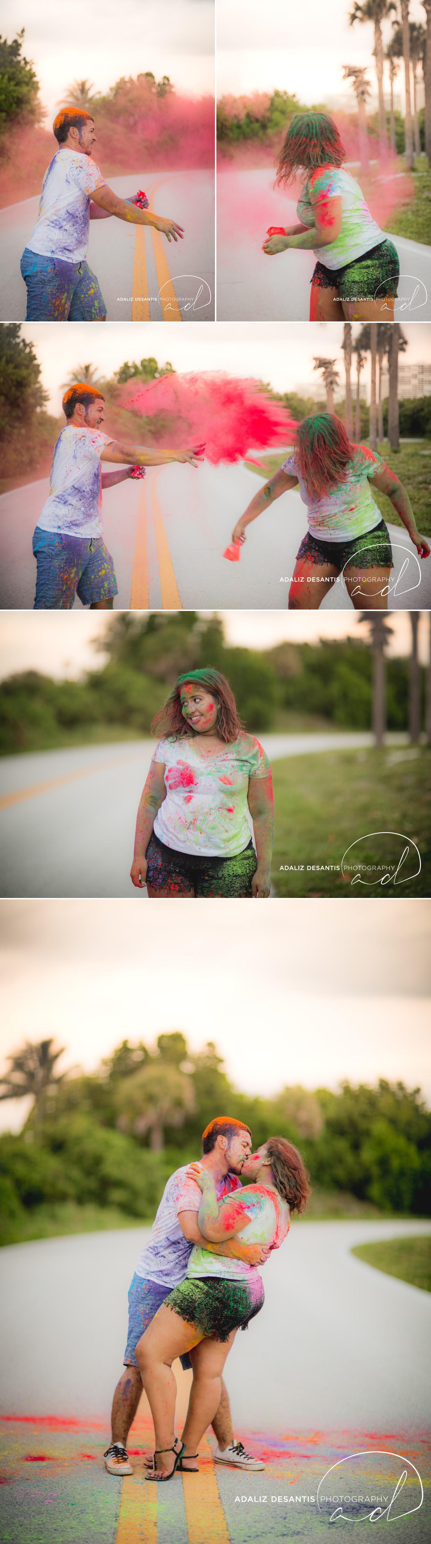 John U Lloyd Beach State Park Paint War Dania Beach Fort Lauderdale Engagement Session 27.jpg