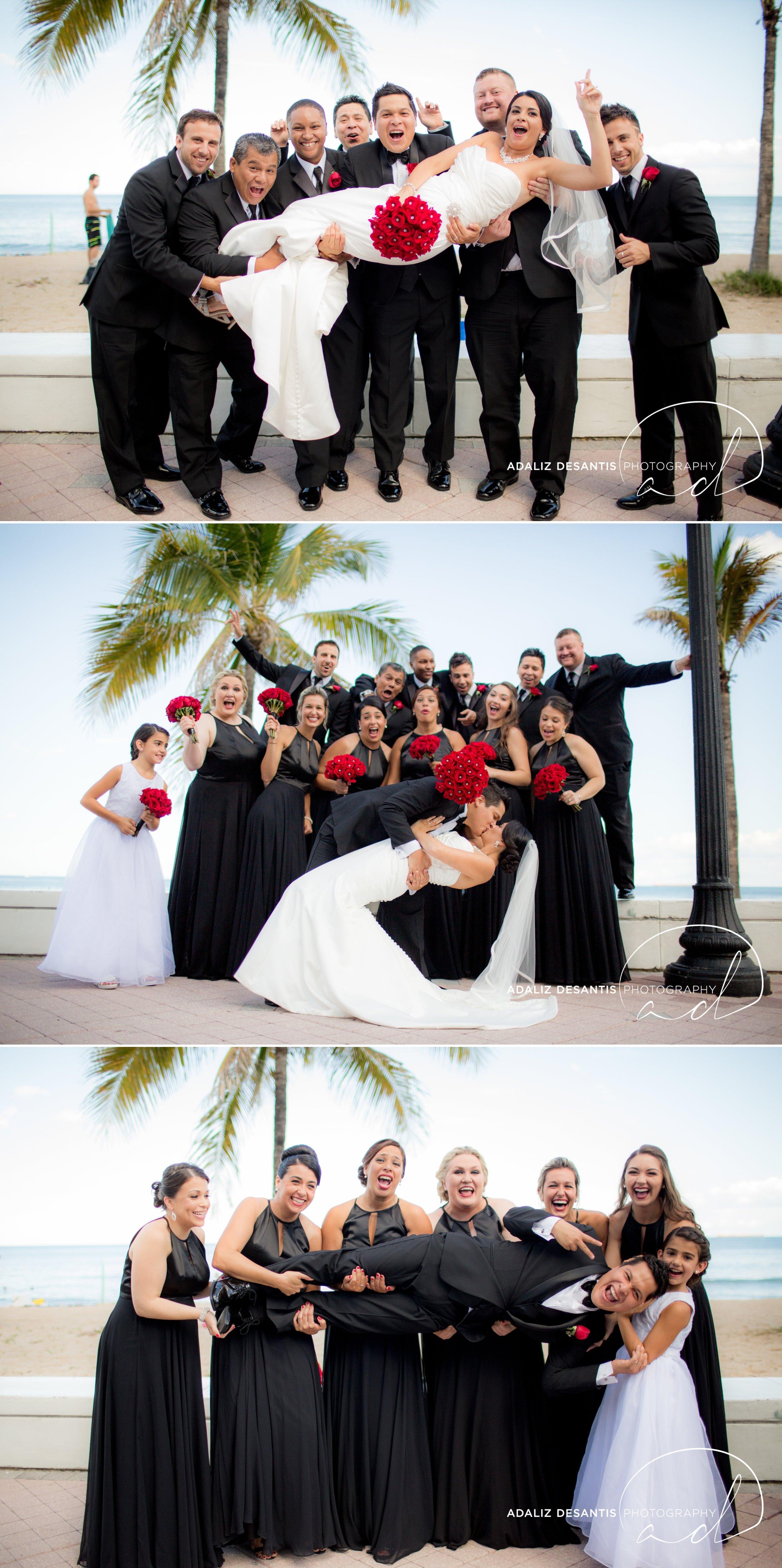 grande oaks golf club davie wedding saint david catholic church black red white south florida wedding photographer documentary photojournalistic 18.jpg