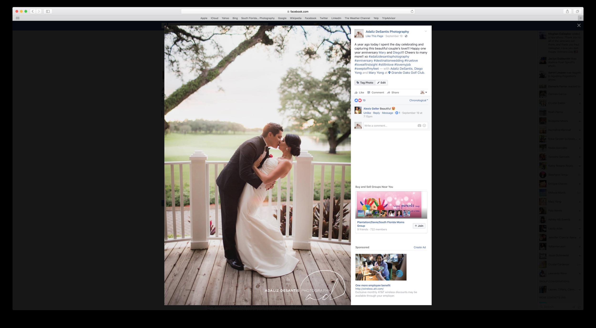 tag photo Facebook desktop 1