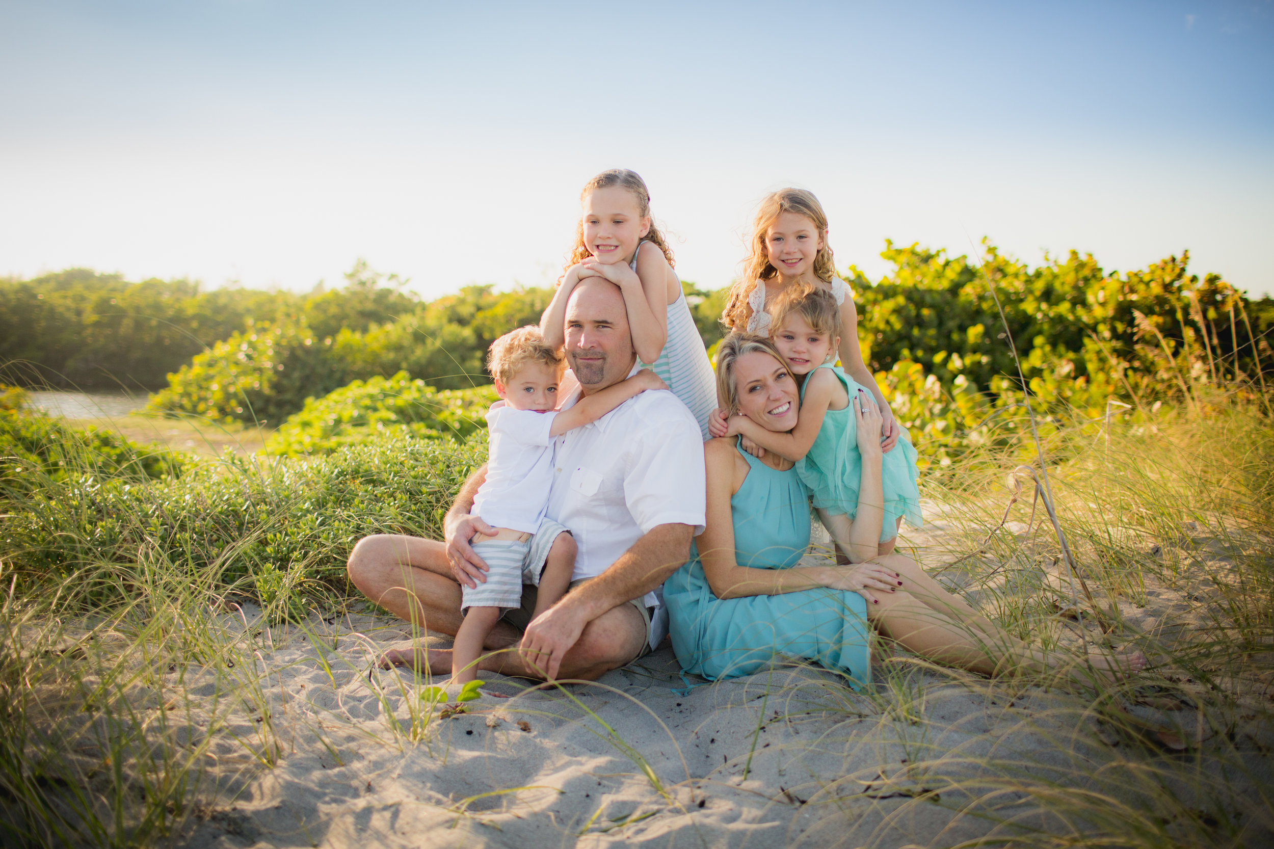 dania beach family photo session fort lauderdale fl