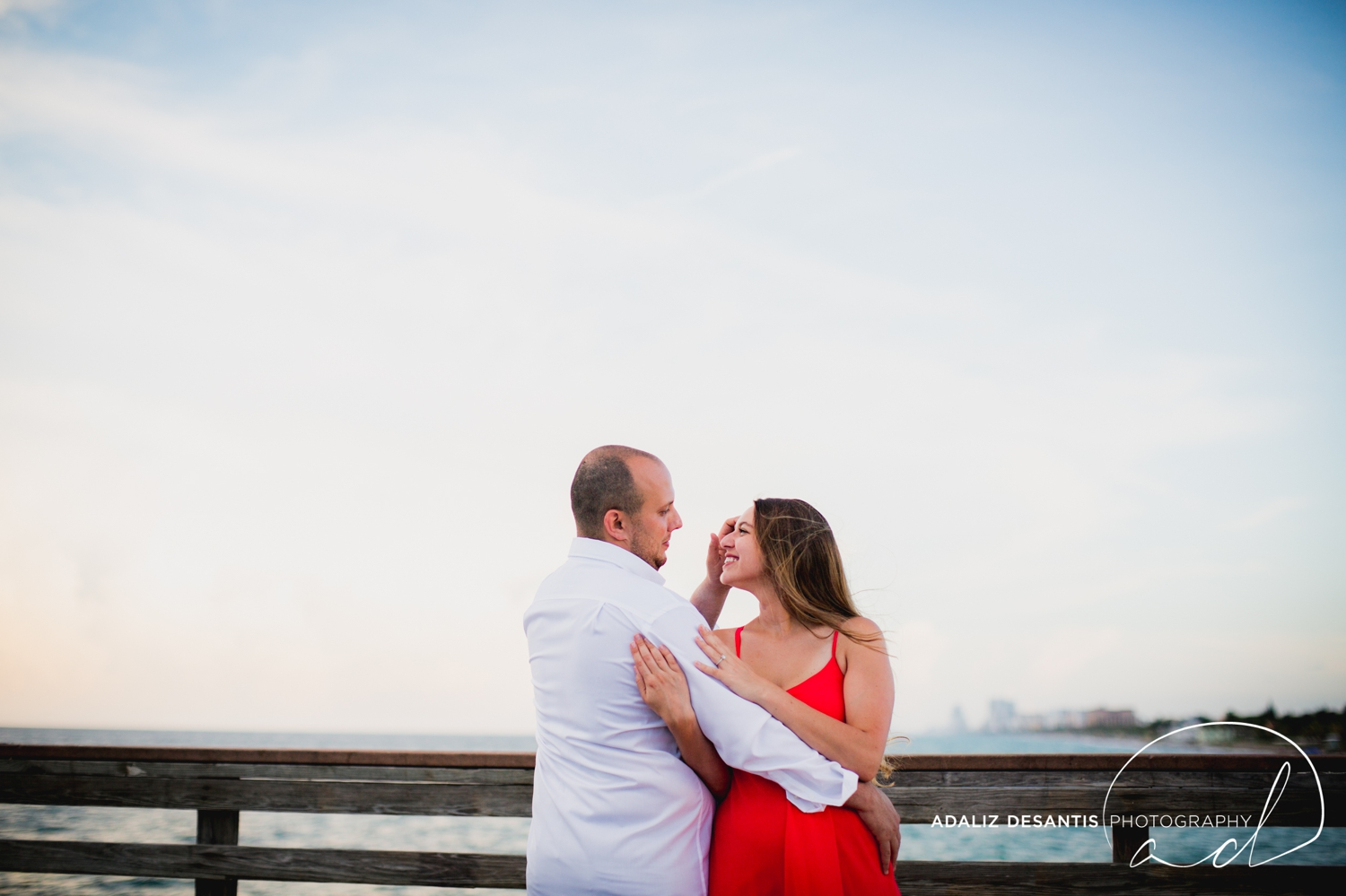 Gaby Aaron Engagement Session South Florida Dania Beach PIer Summer Love Destination Engaged 11.jpg