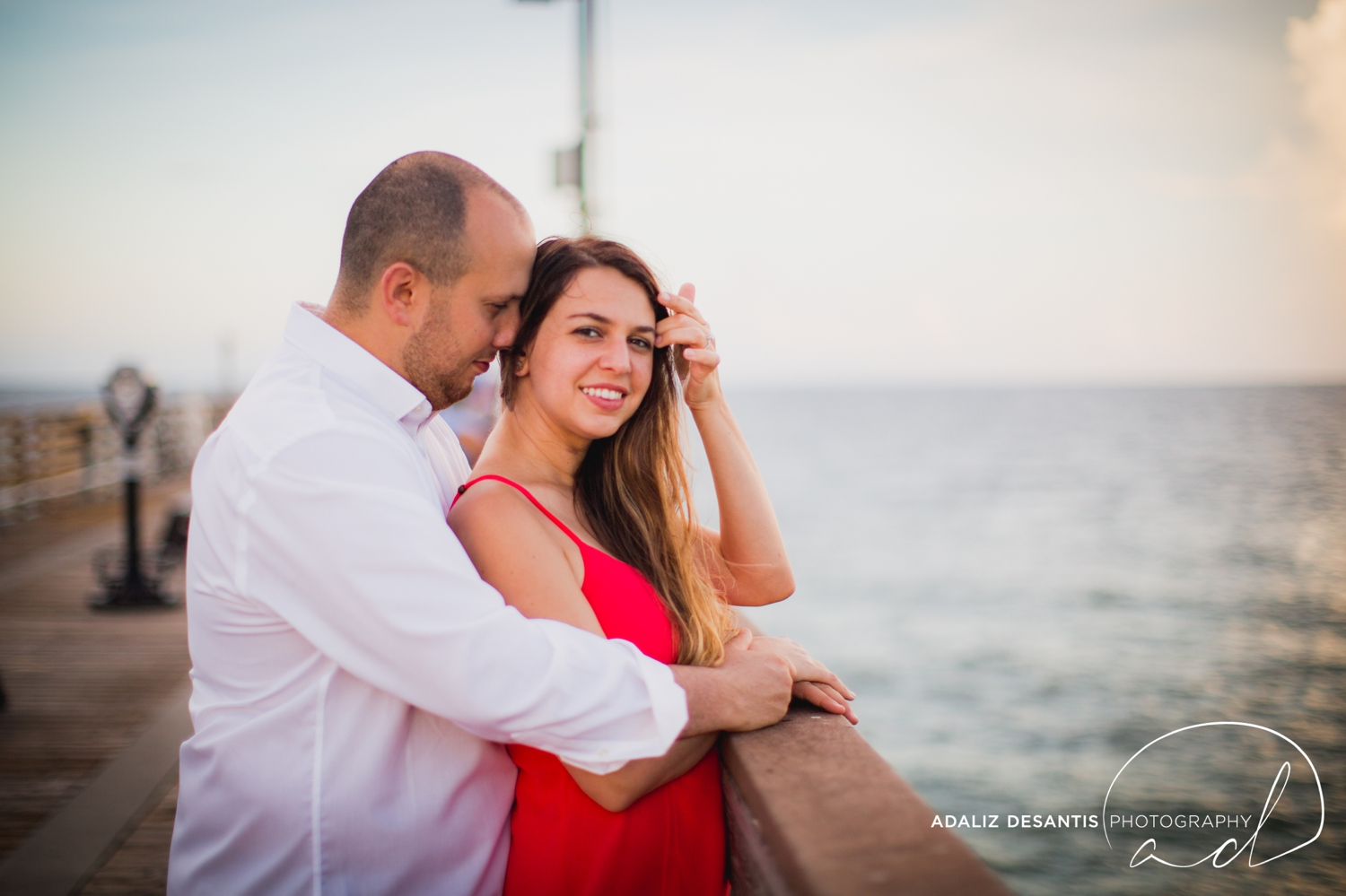 Gaby Aaron Engagement Session South Florida Dania Beach PIer Summer Love Destination Engaged 13.jpg
