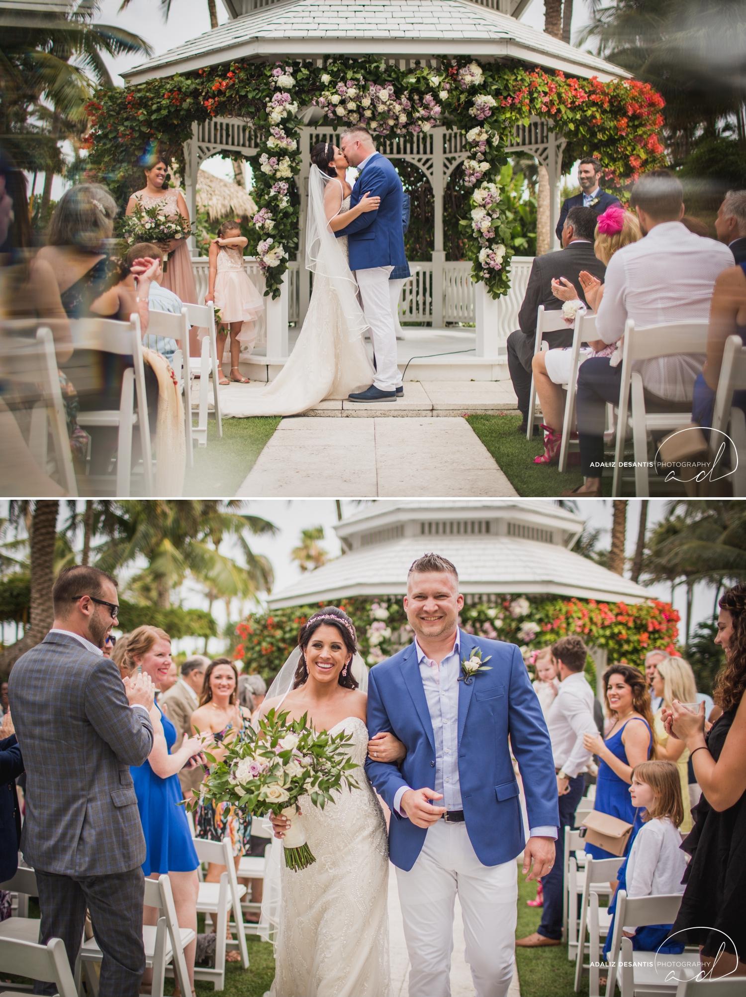 Carmen Alex palms hotel spa miami beach destination wedding lavender roses cuban cigar England cuba bride rose gold elegant Maggie Sottero Badgley Mischka 13.jpg
