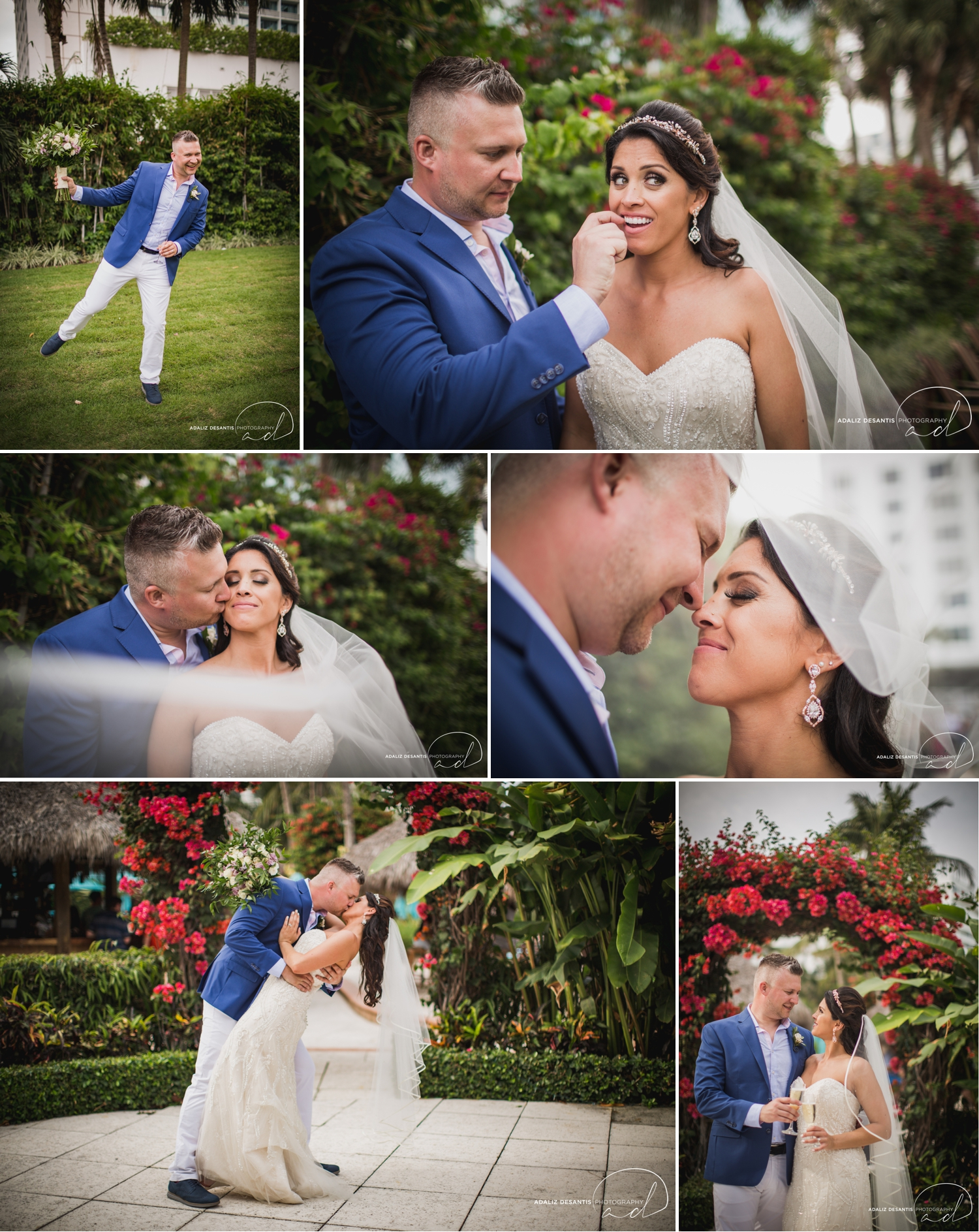 Carmen Alex palms hotel spa miami beach destination wedding lavender roses cuban cigar England cuba bride rose gold elegant Maggie Sottero Badgley Mischka 14.jpg