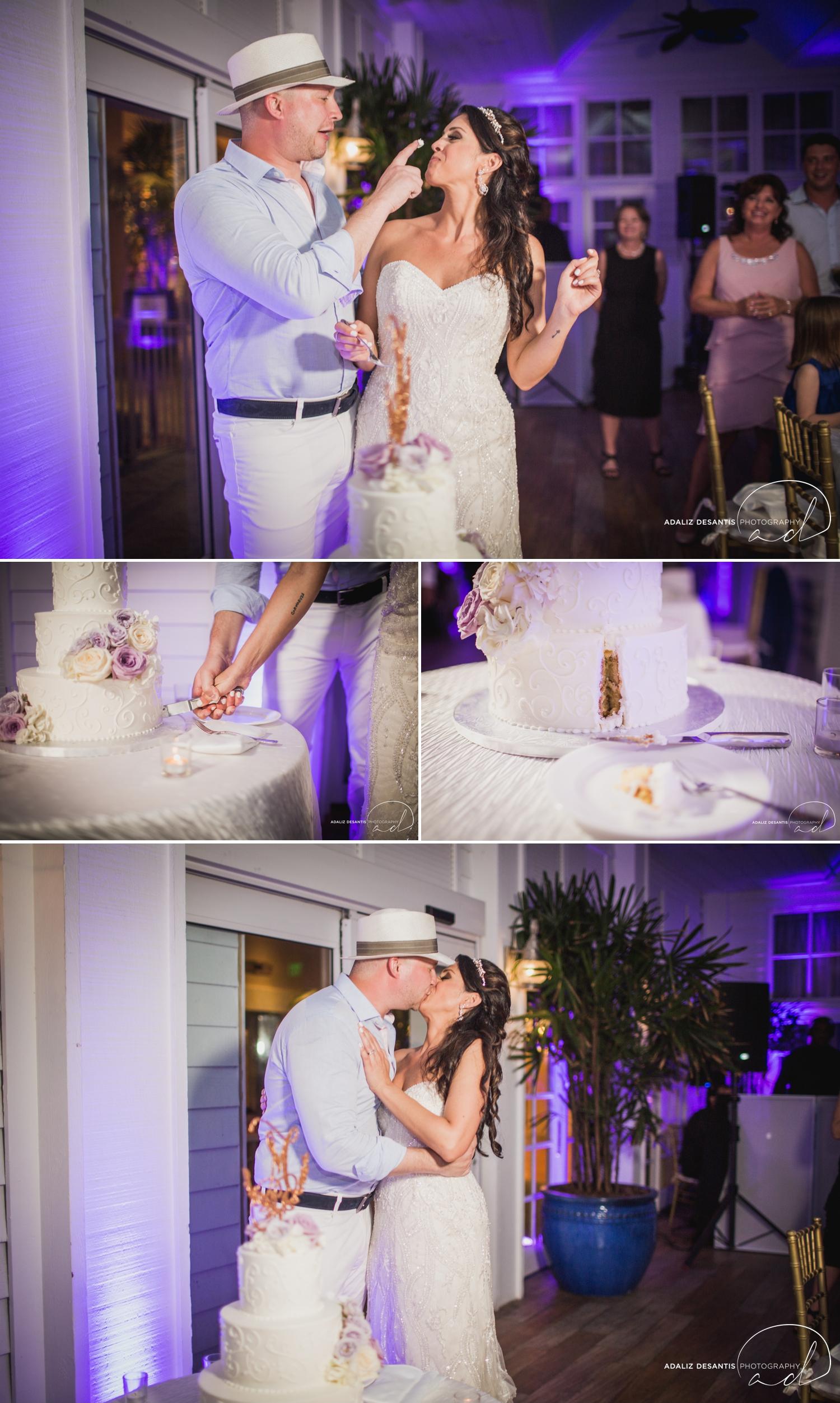 Carmen Alex palms hotel spa miami beach destination wedding lavender roses cuban cigar England cuba bride rose gold elegant Maggie Sottero Badgley Mischka 20.jpg