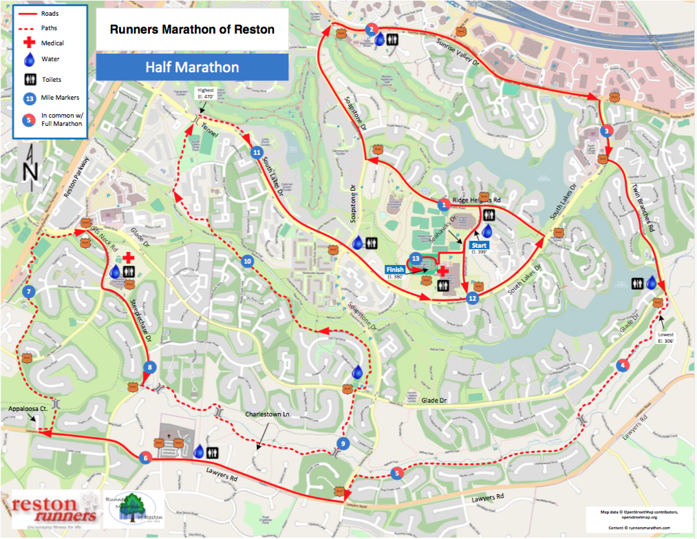 HALF MARATHON MAP (Click to enlarge)