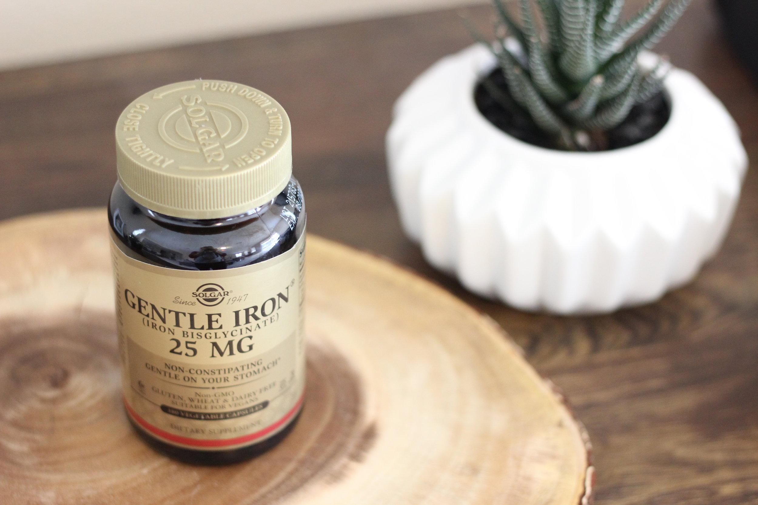 vegan prenatal supplements - iron