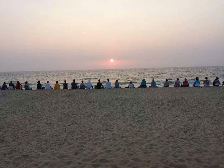 Meditationsreise Indien Meditation Retreat