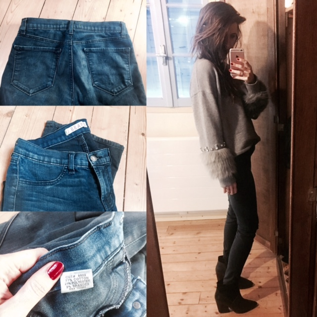 """My """"unicorn"""" jean, J Brand. Great jean to check out because of their denim composition. A Nordstrom Rack find. The easiest place I've found to get high end denim for a decent price."""