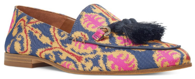 Nine West tassel loafer  --> Perfect with blue jeans or a chic LBD