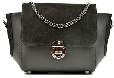 This  Carla Ferreri bag  gives just the right amount of edge, with still a layer of classiness.