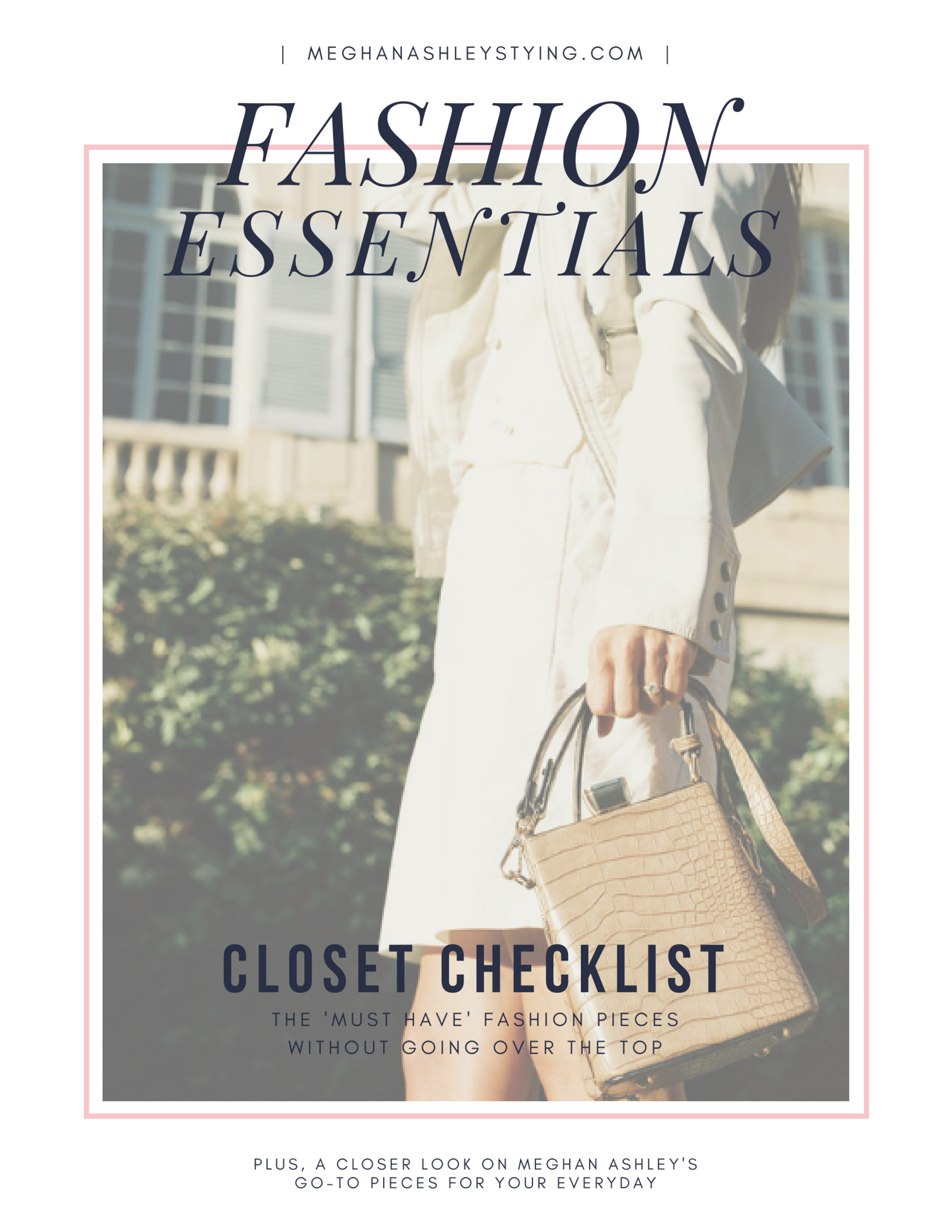 Your Closet CheckList  Guide - Hi, I am so delighted to give you this closet essentials guide - designed especially for Catholic women.