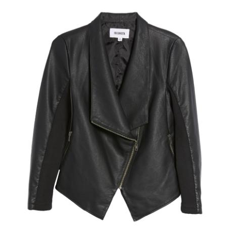 This  BB Dakota  jacket pours a feminine &soft drape. (perfect for you cardigan wear-ers!)