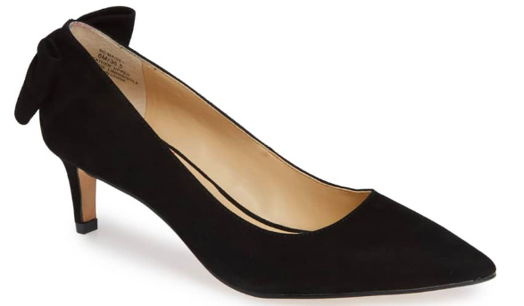 Sole Society: Maizie Bow Pump  A subtle bow in the back… can hardly STAND how perfect the placement is!!