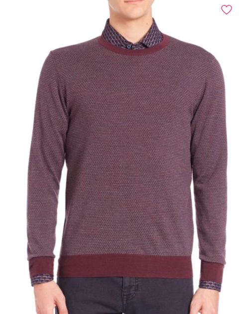 Saks 5th Ave Collection: Merino Wool Sweater