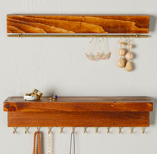 Hanging Jewelry & Bag Organizer