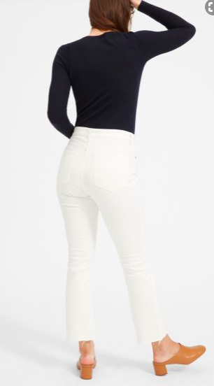 Everlane Kick Crop Jean  This is an amazing jean that I HIGHLY recommend! Great cut, fantastic quality!