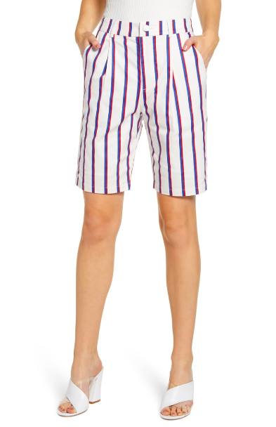 English Factory: Striped Shorts  Big fan of this brand!