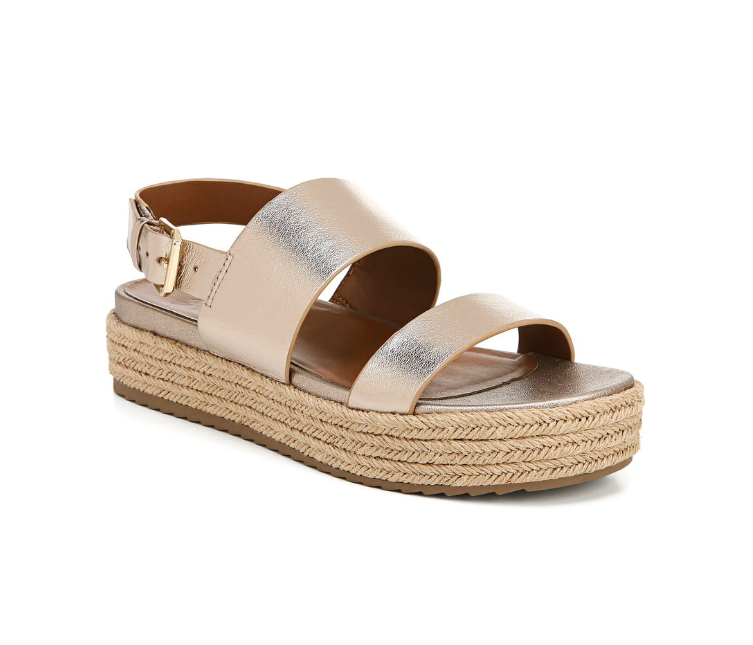 Naturalizer: Platform Sandal  Not only stylish but this brand is AMAZINGLY comfortable! Your feet will be SO happy.