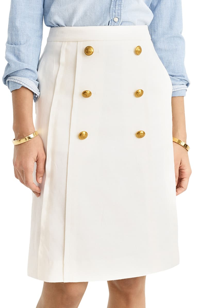 J Crew Pleat Front  Summer-polished-fun! Where's the yacht captain?!