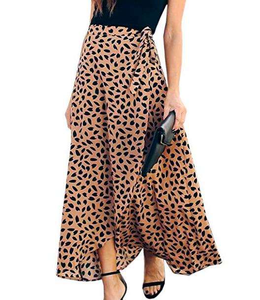Amazon Maxi Wrap Skirt