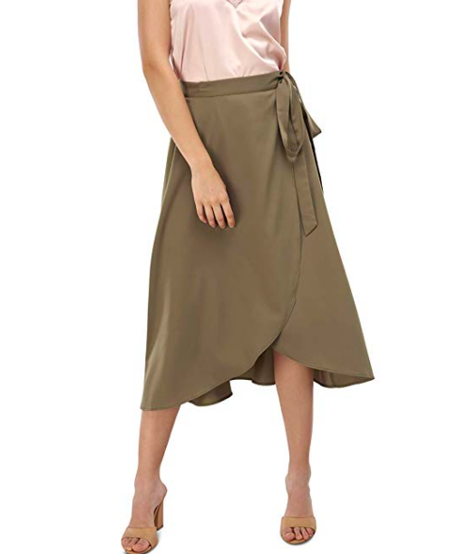 Our Heritage Wrap Skirt