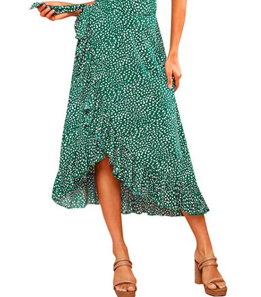 Verdusa Waist Wrap Skirt